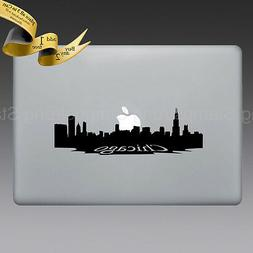 CHICAGO SKYLINE Decal for Apple MACBOOK PRO AIR DELL HP LAPT