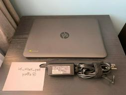 HP Chromebook 14 G4  with Charger