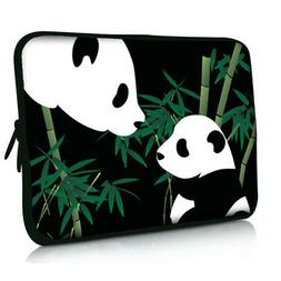 """Cute Panda Laptop Sleeve Bag Case Cover For 13.3"""" Asus Dell"""