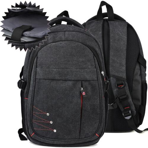 all around grey tech backpack with isolated