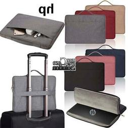 """Laptop Carry Pouch Sleeve Case Bag For 13 14"""" 15"""" HP Chromeb"""