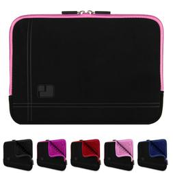 """SumacLife Laptop Microsuede Sleeve Case Cover Bag For 15.6"""""""