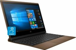 """HP - Spectre Folio Leather 2-in-1 13.3"""" Touch-Screen Laptop"""