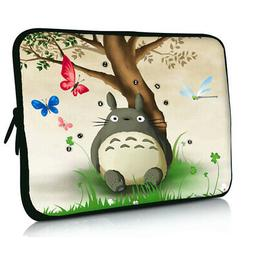 """Totoro Laptop Soft Sleeve Case Bag Cover 17 in For 17.3"""" Del"""